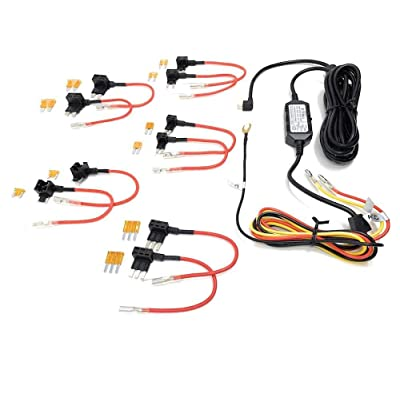 Street Guardian SGX2HW SGGCX2PRO Hardwire Kit with All Fuse Tap Sizes - Complete Kit: Car Electronics