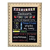 First Day of School Chalkboard, Easy to ...