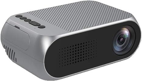 Opinión sobre QK Proyector, Proyector HD 1080P Nativo, Pantalla de 20-60 '' Contraste 800: 1, Proyector de Cine en casa Inteligente Compatible con HDMI/TF/USB/AV