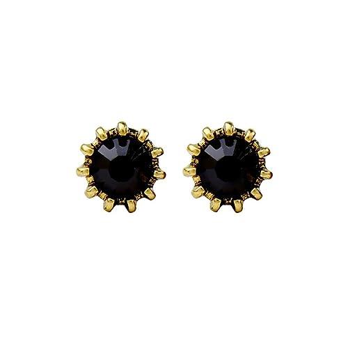 6fba8409fd2b68 ball earrings|clip on earrings|ear cuffs|dangle earrings|earring jackets|hoop  earrings|stud earrings|Geometric small ear nail simple Mini diamond drill