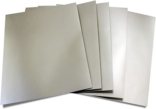 8.5 x 11 Inches Hygloss Products Metallic Foil Board Sheets 25 Pack Purple