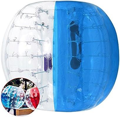 Amazon.com: moroly pelota hinchable de parachoques burbuja ...