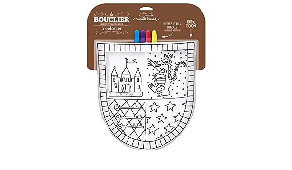 Bouclier de chevalier (escudo de caballeros para pintar?: Amazon.es ...