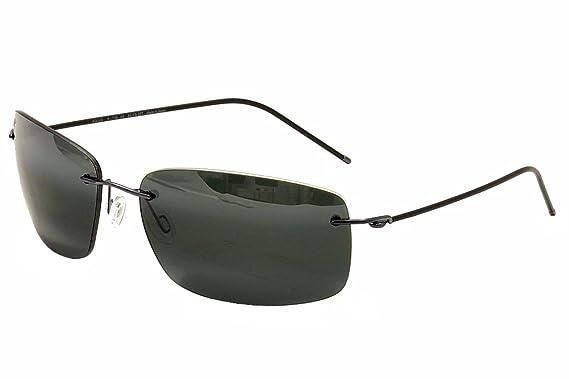 Maui Jim Frigate Sonnenbrille Gunmetal Blau MP-8G Polarisiert 65mm l2eakRS