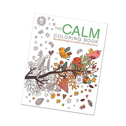 Amazon Com The Calm Coloring Book
