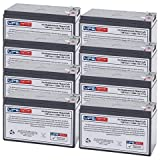Alpha Technologies ALI Plus BP1500-2200/08 Multi Mount (SLA) Replacement Battery Set - 12V 7Ah with F1 terminal