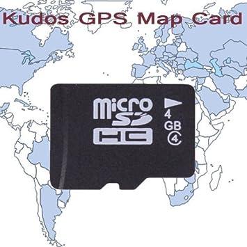 Lightinthebox Western Europe KUDOS Tarjeta de mapas GPS, con 4 GB tarjeta TF para coche reproductor de DVD, rejillas de sistema de navegación GPS: Amazon.es: Electrónica