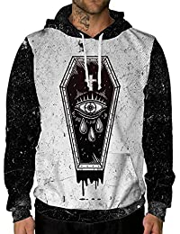 Haunted Hollow Long Sleeve Halloween Costume Hoodie Sweatshirts