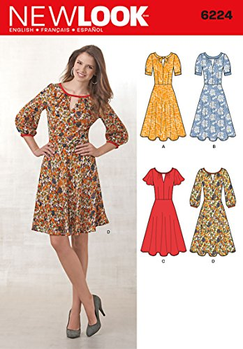 Amazon Simplicity New Look Pattern 40 Misses Dress with Fascinating Simplicity Patterns Dresses