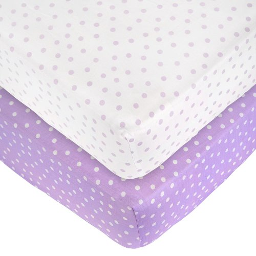 Pack Dot Sateen Crib Sheets product image