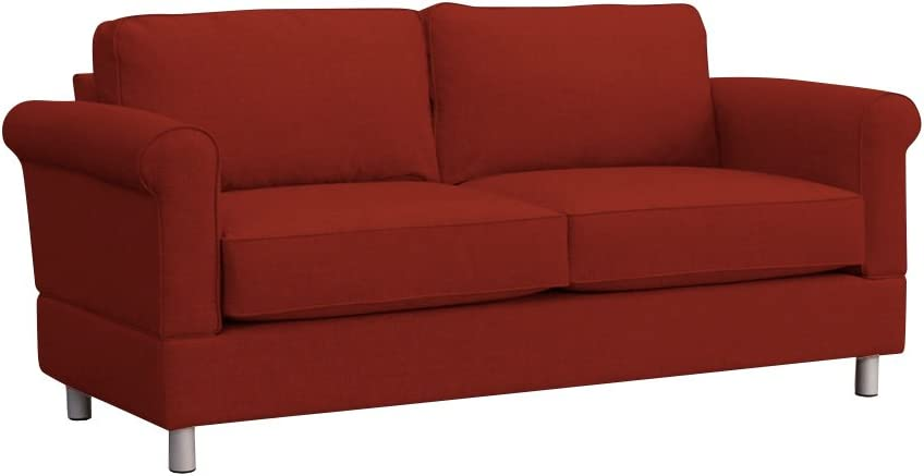 Furniture For Living Gregory RTA Loveseat, Red