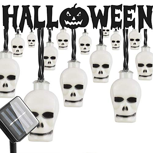 15 Led Halloween Pumpkin String Lights in US - 7