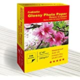 Galada Photo Paper 100 Sheets 4x6 Photo Paper High Glossy Vivid Color Waterproof Photographic Paper Works with all Inkjet Printers (100sheet 46)