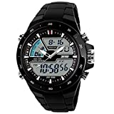 Carrie Hughes Men's Digital Sports Watch 50M Waterproof Multifunction Military Luminous Stopwatch Alarm Simple Army Outdoor Watch CH028