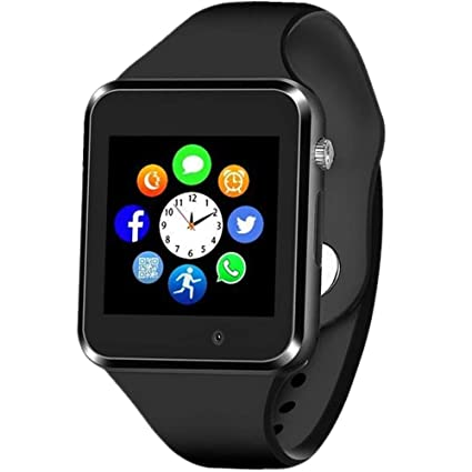 Sazooy Smart Watch Bluetooth Touchscreen Smart Wrist Watch Smartwatch Phone Fitness Tracker with SIM SD Card Slot Camera Pedometer Compatible iOS ...