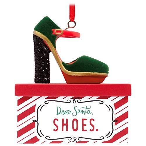- Hallmark Dear Santa High Heel Shoe Ornament Girlfriend,Santa Claus