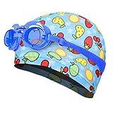 Kylin Express Fun Swimming Cap for Kids & Toddlers -Kids Swim Cap Durable Swimwear Hair & Ear Protector,#N