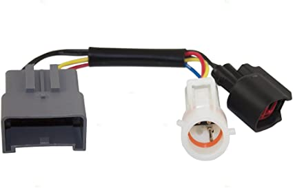 Grúa espejo Upgrade adaptador arnés conector w/cable de calor de ...