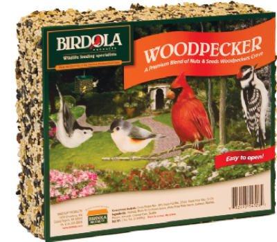 Birdola Woodpecker Seed Cake (Woodpecker Birdola Cake)