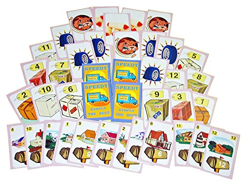 an Award Winning 3-in-1 Co-Operative Card Game Family Pastimes Speedy Parcel