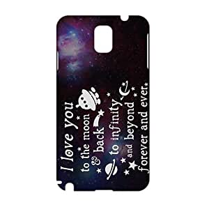I Love you to the Moon and Back 3D Phone Case for Samsung Galaxy Note 3