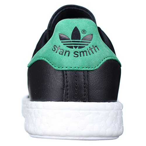 ADIDAS STAN SMITH SNEAKERS NERO BIANCO BB0009 - 40, NER