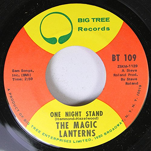 (THE MAGIC LANTERNS 45 RPM ONE NIGHT STAND / FRISCOE ANNIE)