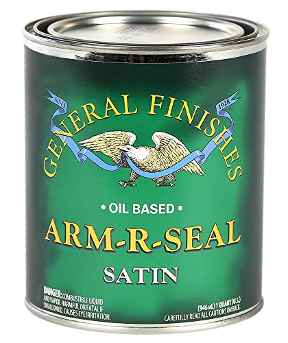 General Finishes ASQT Arm-R-Seal Urethane, 1 Quart,