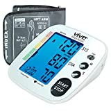 Our product review for Blood Pressure Monitor by Vive Precision - Automatic Digital Upper Arm Cuff - Accurate, Portable BPM, Perfect for Home Use - Electronic BP Meter Measures Pulse Rate - 1 Size Fits Most Cuff, Silver