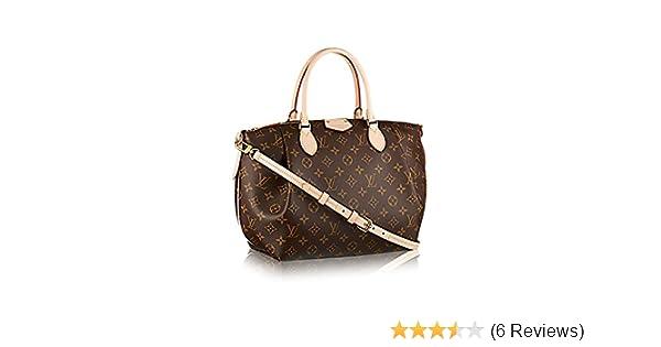80e67c7ab27b Authentic Louis Vuitton Monogram Canvas Turenne MM Tote Bag Handbag  Article  M48814 Made in France  Handbags  Amazon.com