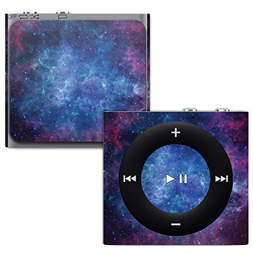 MightySkins Skin for Apple iPod Shuffle 4G - Nebula | Protective, Durable, and Unique Vinyl Decal wrap Cover | Easy to Apply, Remove, and Change Styles | Made in The USA (Shuffle Protective Silicone Case)
