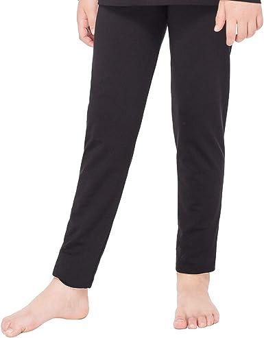 MANCYFIT Thermal Pants for Women Fleece Lined Leggings Underwear Soft Bottoms Dark Grey Small