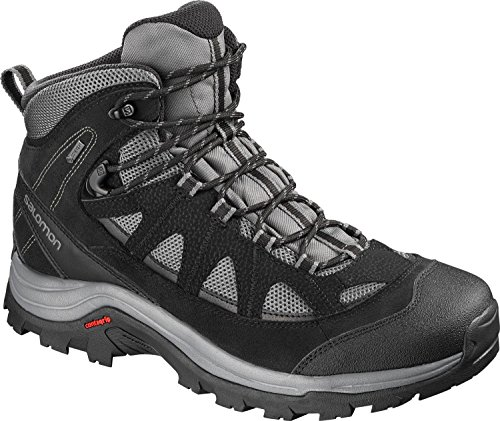 Salomon Authentic LTR GTX, Scarpe da Trail Running Uomo Grigio (Magnet/Black/Quiet Shade Magnet/Black/Quiet Shade)