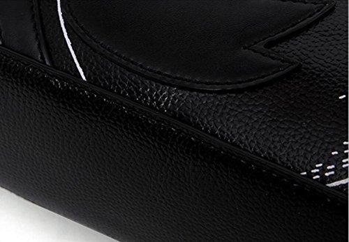 FZHLY Nuovo Modo Delle Signore Little Swan Modello Messenger Bag Borsa A Tracolla,WineRed