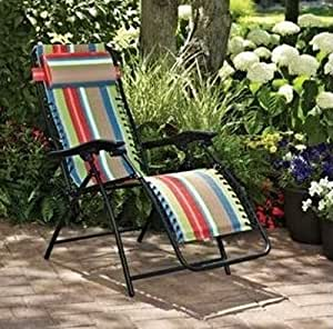 Patio bungee lounge chair these outdoor for Anti gravity chaise