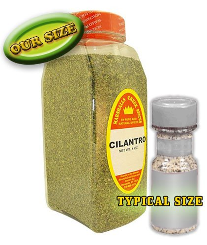 XL Size Marshalls Creek Spices Cilantro 4 oz by Marshall's Creek Spices