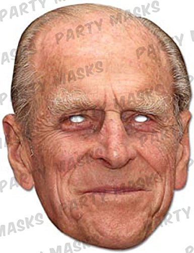 Official Mask-arade Mask - Prince Philip Duke of Edinburgh