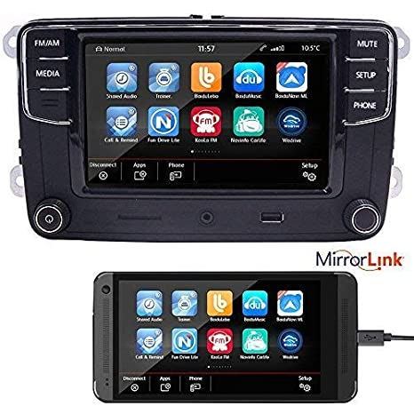 Car Audio Radio RCD330 build-in Android: Amazon co uk