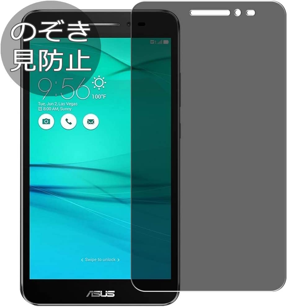 """Synvy Privacy Screen Protector Film for Acer ZenFone Go ZB690KG 6.9"""" 0.14mm Anti Spy Protective Protectors [Not Tempered Glass]"""