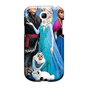 Anti-Scratch Cell-phone Hard Covers For Samsung Galaxy S4 Mini With Allow Personal Design Fashion Frozen Movie Pattern TraciCheung