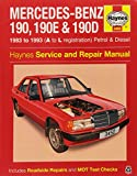 img - for Mercedes-Benz 190 Service and Repair Manual (Haynes Service and Repair Manuals) book / textbook / text book