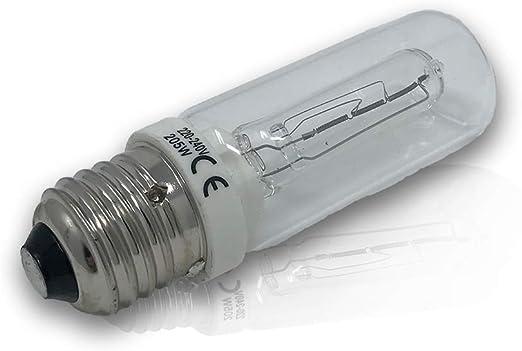 E27 Halogenlampe Ceramik 100W 230 Volt Klar Ersetzt 64401