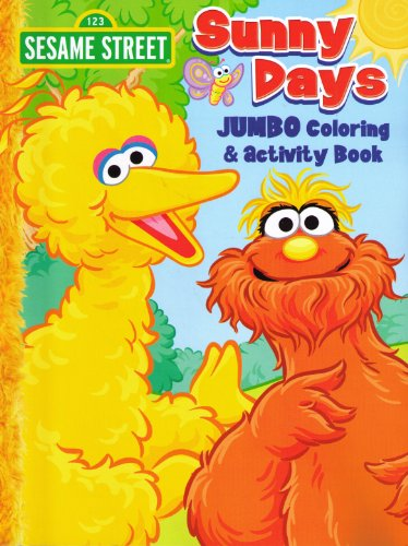 Sesame Street Coloring Activity Activities