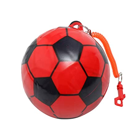 STOBOK Balones de fútbol inflables Pelota de fútbol de PVC Pelota ...