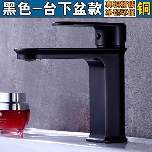 Grifo Baño Mezclador Lavabo De Cobre Grifo Del Baño Lavabo Caliente Y Fría Del Grifo
