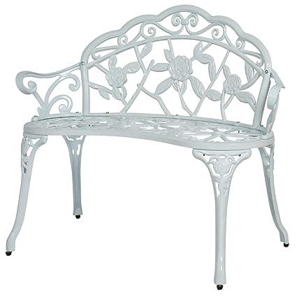 Terrific Amazon Com Bs Vintage Garden Bench Love Seat Outdoor For 2 Theyellowbook Wood Chair Design Ideas Theyellowbookinfo