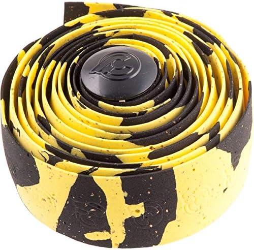 CINELLI NMMASPBN Cinelli Cork Macro Splash Black//White Handlebar Tape