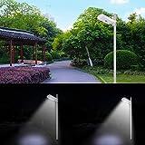 Brillihood LED Solar Street Light, 25W, 6000K
