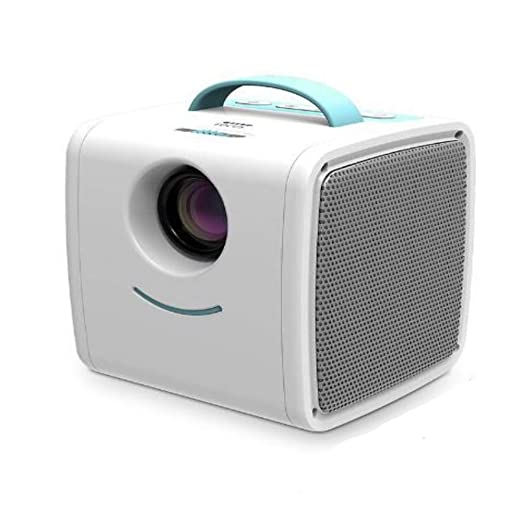 NCBH Proyector portátil, Mini proyector para niños LCD Mini ...