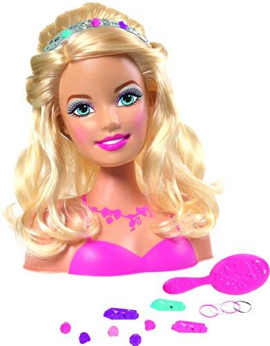 IMC Toys - Maniquí para peinar y maquillar Barbie (784703)